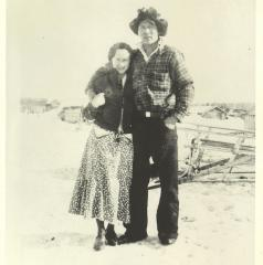 Andy and Effie Kokrine, 1936